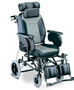 Αναπηρικό αμαξίδιο Reclining  με μεσαίους τροχούς - Roi Medicals