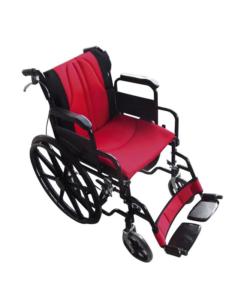 Σειρά Golden αναπηρικό αμαξίδιο κόκκινο - μαύρο - Roi Medicals
