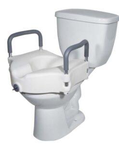 Ανυψωτικό τουαλέτας 10cm με βραχίονες 0806702 - Roi Medicals