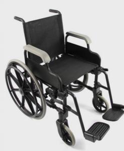 Πλαστικό αναπηρικό αμαξίδιο με μεγάλους τροχούς - Roi Medicals