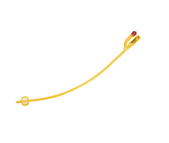 Καθετηρας gold RuschFoley 2way λάτεξ με επικάλυψη σιλικόνης - Roi Medicals