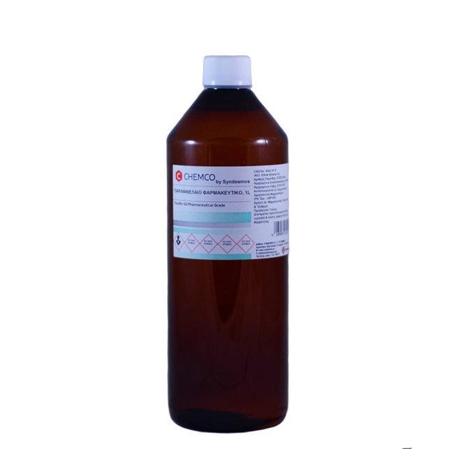 Chemco παραφινέλαιο ελαφρύ φαρμακευτικό, 1lt - Roi Medicals