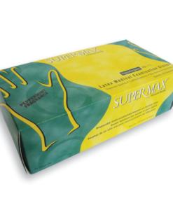Εξεταστικά γάντια λάτεξ Supergloves LARGE-Roi Medicals