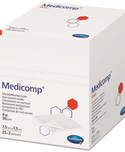 Hartmann Medicomp γάζα non-woven (4πλά 5cm x5cm )-Roi Medicals