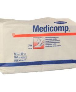 Γάζα Medicomp μη αποστειρωμένη (4απλά 10cm x 20cm)-Roi Medicals