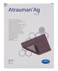 Hartmann Atrauman Ag με αλοιφή αργύρου 10x10cm - Roi Medicals