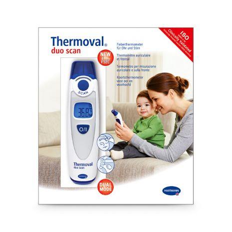 Ψηφιακό θερμόμετρο Hartmann Thermoval Duo Scan - Roi Medicals