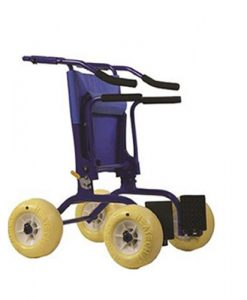 Αναπηρική καρέκλα περιπατητήρας παραλίας θαλάσσης JOB