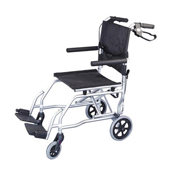 Αναπηρικό αμαξίδιο μεταφοράς αλουμινίου με τσάντα - Roi Medicals