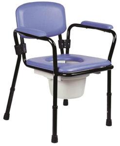 Καρέκλα τουαλέτας σταθερή με ρυθμιζόμενο ύψος - Roi Medicals