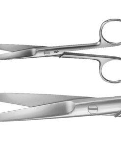 Ψαλίδι χειρουργικό ευθύ ανοξείδωτο Rhein 14cm - Roi medicals