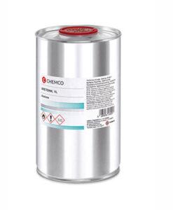 Ασετόν ακετόνη καθαρή CHEMCO (1 λίτρο) - Roi Medicals