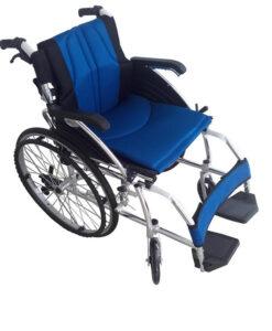 """Αναπηρικό αμαξίδιο αλουμινίου ALU II FIX QR """"Premium"""" - Roi Medicals"""