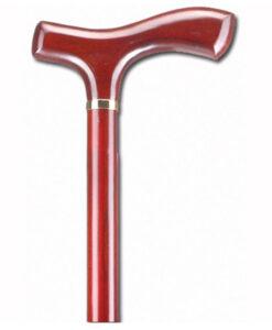 Μπαστούνια ίσια λαβή Alfacare κόκκινο AC-835- Roi Medicals