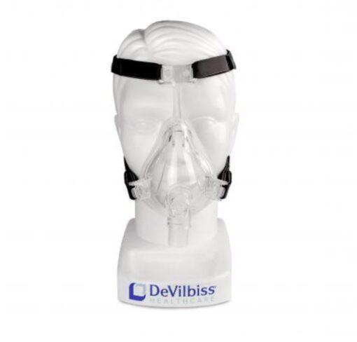 Στοματορινική μάσκα σιλικόνης Devilbiss - Roi Medicals