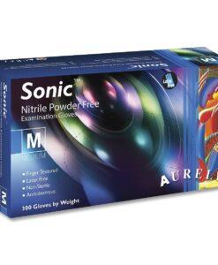 Aurelia Sonic γάντια νιτριλίου μίας χρήσης χωρίς πούδρα XL-Roi Medicals