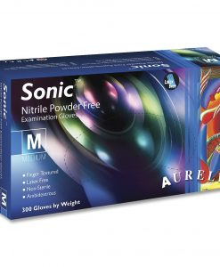 Aurelia Sonic γάντια νιτριλίου χωρίς πούδρα Medium - Roi Medicals