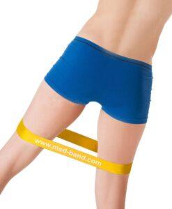 Λάστιχο γυμναστικής MSD–BAND LOOP κίτρινο Alphacare - Roi Medicals