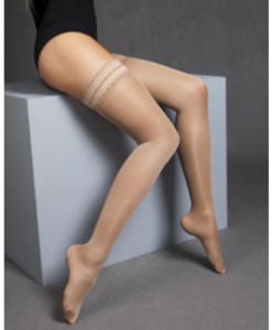Κάλτσες ριζομερίου MAXIS RELAX 140 DEN AG μπεζ-Roi Medicals