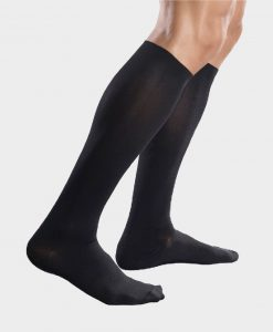 Ανδρικές κάλτσες cotton Anatomic ΜΑΥΡΟ SMALL-Roi Medicals