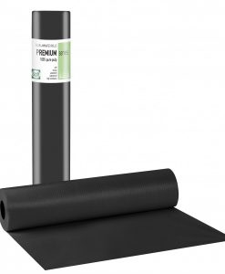 Εξεταστικό ρολό πλαστικό+χαρτί μαύρο 50εκ. x 50μ - Roi Medicals