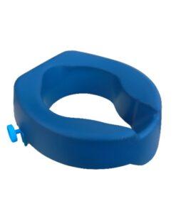Ανυψωτικό κάθισμα τουαλέτας 10cm μπλε PU - Roi Medicals