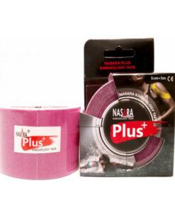 Nasara Tape Plus κινησιοθεραπείας αδιάβροχο ροζ - Roi Medicals