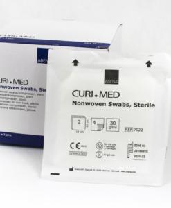 Curi Med γάζες nonwoven αποστειρωμένες 4ply 5 x 5cm-Roi Medicals