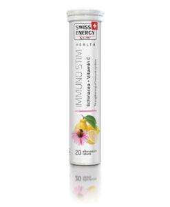 Βιταμίνη IMMUNOSTIM Echinacea + Vitamin C 20 Tablets-Roi Medicals