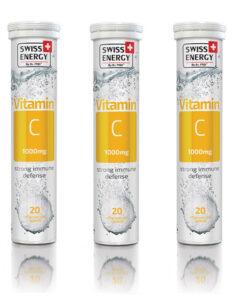 Βιταμίνη C 1000mg Swiss Energy 20 tablets - Roi Medicals