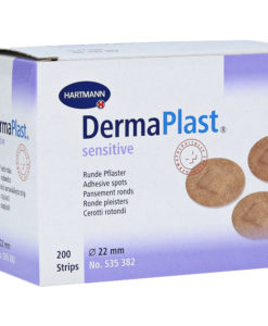 Hartmann Dermaplast sensitive στρογγυλά επιθέματα 22mm-Roi Medicals