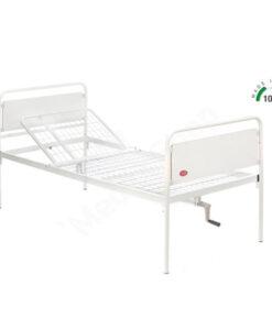 Κρεβάτι μεταλλικό μονόσπαστο λευκό Moretti 0804903 - Roi Medicals
