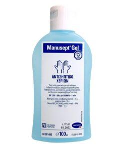 Hartmann Manusept Gel αντισηπτικό χεριών 100ml - Roi Medicals