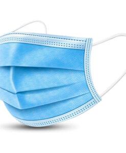 Μάσκες μιας χρησης προστασίας προσώπου 3ply