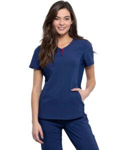 Μπλούζα γυναικεία CKK815 Cherokee ΜΠΛΕ - Roi Medicals