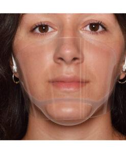 Ασπίδα προστασίας στόματος και μύτης ELEGANT - Roi Medicals