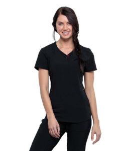 Μπλούζα γυναικεία CKK815 Cherokee ΜΑΥΡΟ - Roi Medicals