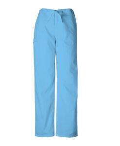 Παντελόνι unisex σιέλ με κορδόνι 4100 Cherokee - Roi Medicals