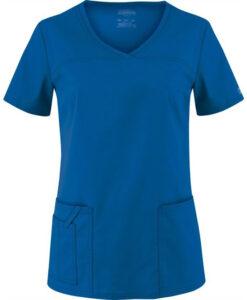 Μπλούζα γυναικεία μπλε ρουά stretch 4727 cherokee - Roi Medicals