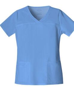 Μπλούζα γυναικεία σιελ stretch 4727 cherokee - Roi Medicals