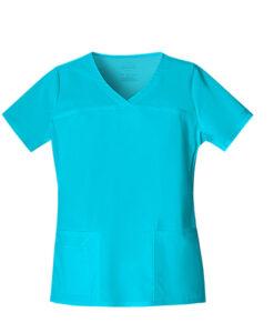 Μπλούζα γυναικεία τυρκουάζ stretch 4727 cherokee - Roi Medicals
