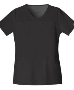 Μπλούζα γυναικεία μαύρη stretch 4727 cherokee μαύρη - Roi Medicals