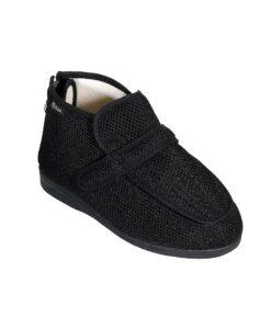Emanuele διαβητικό δνατομικό Παπούτσι Μαύρο CR2-Roi Medicals