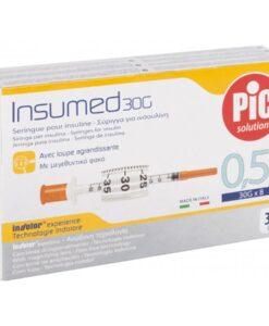 Σύριγγες Pic insuline 0.5cc G30x8mm(1 τεμάχιο) - Roi Medicals