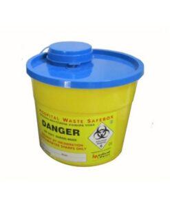 Δοχείο απόρριψης βελονών χωρητικότητας 5.4 L - Roi Medicals