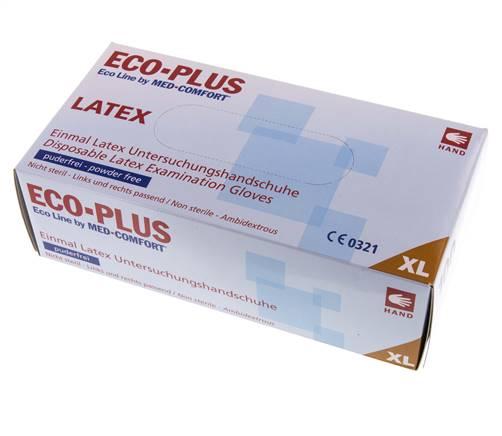 Blue eco-plus MED-COMFORT γάντια νιτριλίου μπλε Xlarge-Roi Medicals